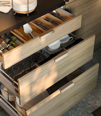 organised kitchen oooo