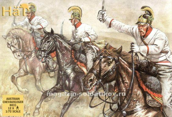 Австрия. Драгуны, Шеволежёры, 1792-815гг. | 54 фотографии