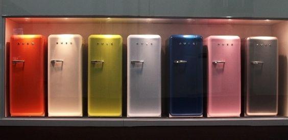 geladeiras coloridas - Pesquisa Google