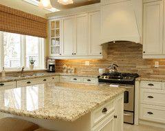 Jennifer Brouwer Design Inc traditional kitchen St Cecilia granite (calvin kit)