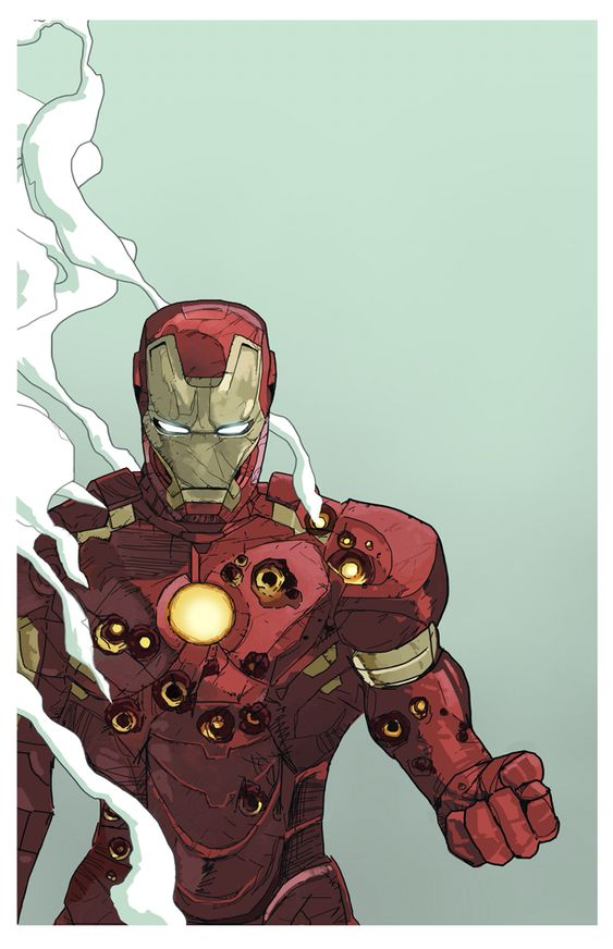 Iron Man (Tony Stark) is a fictional superhero appearing in American comic books published by Marvel Comics, as well as its associated media. The character was created by writer and editor Stan Lee, developed by scripter Larry Lieber, and designed by artists Don Heck and Jack Kirby. He made his first appearance in Tales of Suspense #39 (cover dated March 1963).