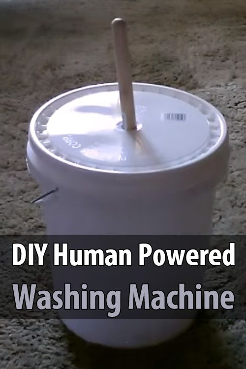 make your own washing machine