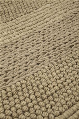 Knitted Band Rug from  Next