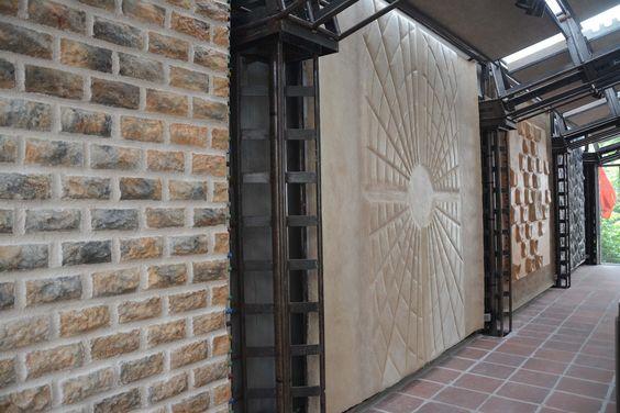 kreative steinw nde aus styropor diese w nde sind f r den innen und au enbereich geeignet. Black Bedroom Furniture Sets. Home Design Ideas