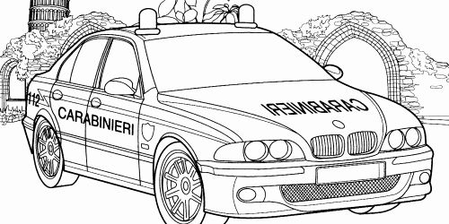32 Police Car Coloring Page In 2020 Police Cars