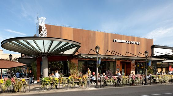 Starbucks university village seattle architecture for Furniture u village seattle