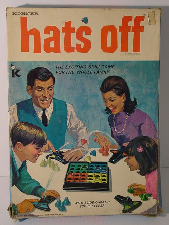 Popular Toys In The 1960s : Game hats and s on pinterest