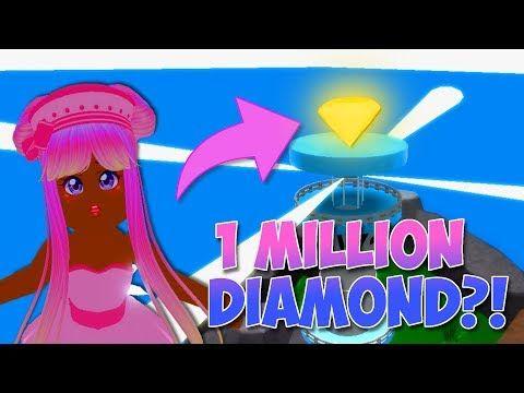 1 Million Diamond Glitch In Royale High Roblox Royale High School Youtube In 2021 Roblox Glitch High School