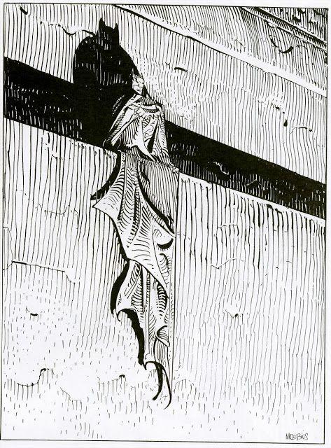 O Moebius desenhou um monte de personagens e personalidades que todo mundo conhece.  Ele foi o responsável pela capa da compilação francesa de 1975, Jimi Hendrix / 1 Are You Experienced, Axis: Bold As Love, que também foi usado como capa da compilação de 1995, Voodoo Soup. E se empolgou tanto que fez uma (...)