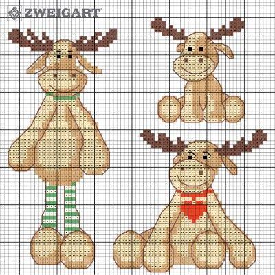 184-frohe-weihnacht-elche-freebee