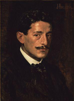Autorretrato, 1900: Julio Ruelas: