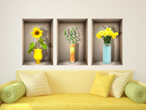 Happy Colors Vinyls And Bedroom Office On Pinterest