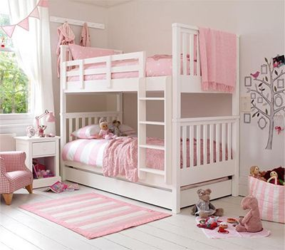 Best Oxford White Bunk Beds By Feather Black Girls Bedroom 640 x 480