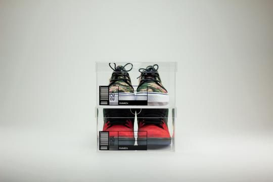 The OG Sneaker Crate - Clear Sneaker Shoe Boxes - 2 Pack | Sneaker storage, Sneaker  storage box, Sneaker displays