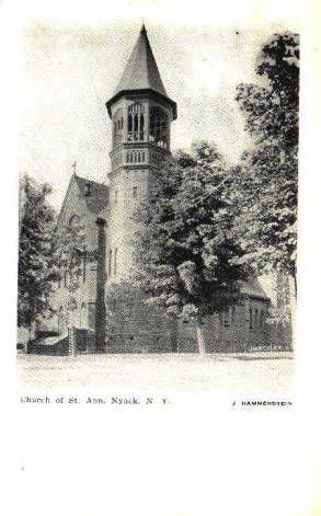 Church of St. Ann, Nyack NY 1900