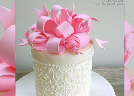 How to Make a Loopy Bow!- A Cake Decorating Video Tutorial