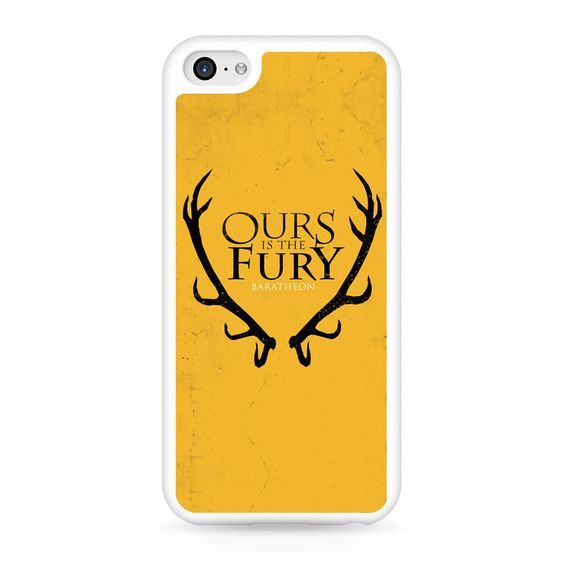 Game Of Thrones - Baratheon Ours Is The Fury iPhone 5C Case