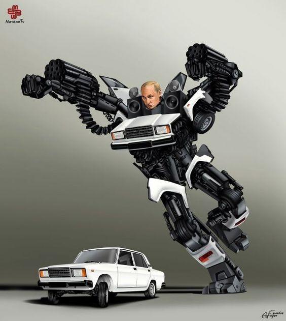 Transformers- World Leader Edition - Neatorama