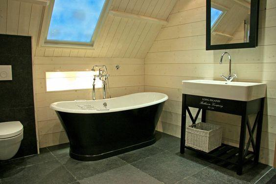 Landelijke badkamers: sfeervol baden in landelijke stijl