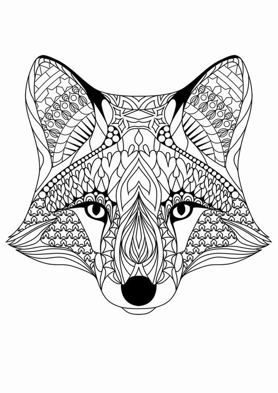 Animal Coloring Pages For Kids 9 And Up Fox Coloring Page Animal Coloring Pages Cool Coloring Pages