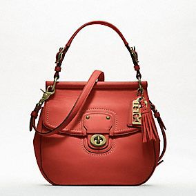 Limited Edition Coach Willis in Vermillion... absolutely gorgeous!