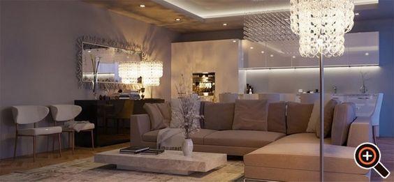 Inspirational Moderne Wohnzimmer einrichten Ideen Deko Wandbilder u Tisch Magazine Design Pinterest