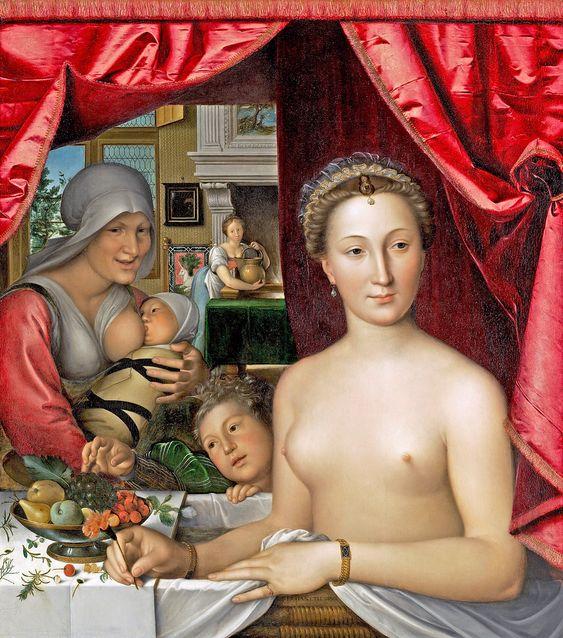 Diane de Poitiers van François Clouet (1571) in de National Gallery of Art, Washington, DC - Google zoeken