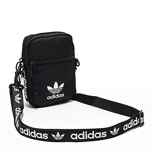 adidas Originals Unisex Festival Crossbody Bag, Red, ONE SIZE