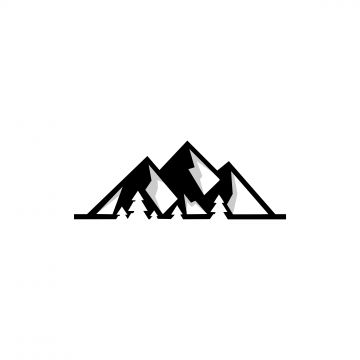 Mountain Logo Vector Icons Template Mountain Clipart Logo Icons Mountain Icons Png And Vector With Transparent Background For Free Download Template Ikon Gunung
