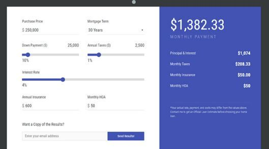 15 Mortgage Loan Calculators For Wordpress Mortgage Loan Calculator Loan Calculator Mortgage Loans