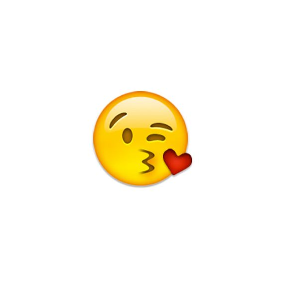 Image result for kissing face emoji