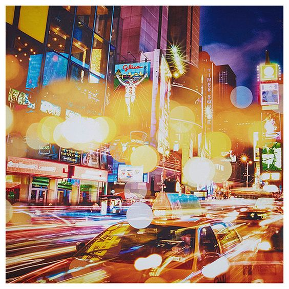 City Lights Canvas Print | Target Australia