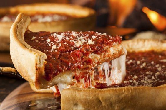 Recette - Pizza style Chicago | Notée 4.3/5