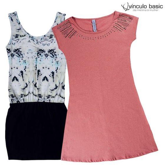 Vai passar uns dias na #praia? A sugestão é um #look bem #verão, com um #vestido de malha ou algodão. Ou ainda um #macaquinho.