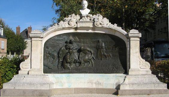Louis Pasteur monument