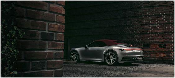 Porsche 911 Carrera Cabriolet on Behance