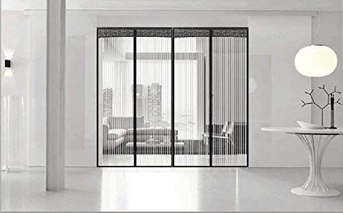 Snap On Screens 10x8 Garage Screen Insulated Curtains Hanging Screen Door Magnetic Screen Door