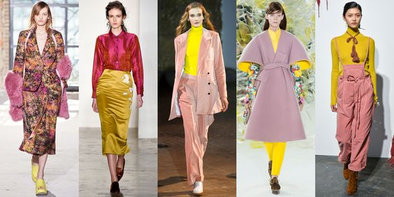 Pink & Yellow: