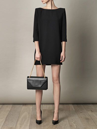 large ysl clutch in red patent leather - The Little Black Dress, The Little Black Bag (Saint Laurent Betty ...