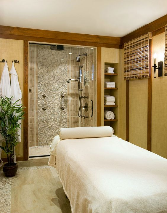 Cullman Kravis Country Bath And Massage Room Exercise