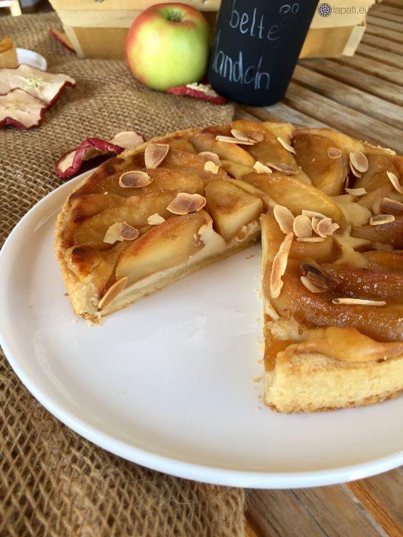 Tarte mit karamellisiertem Apfel | Tarte with caramelised apples #Herbst #Fall