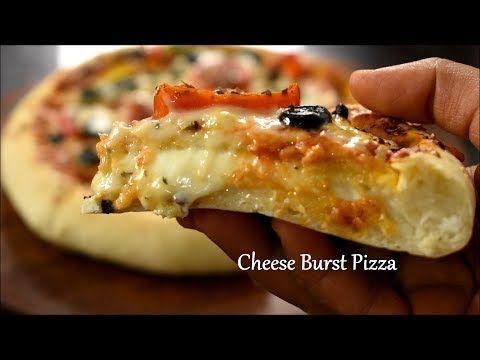 Cheese Burst Pizza Recipe Domino S Cheese Burst Pizza Veg Pizza Recipe Cuisine Veg Pizza Recipe Veg Pizza Recipes