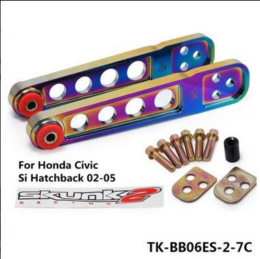 TANSKY - FOR 01-05 CIVIC ES/EM/EP3 Aluminum JDM Rear Lower Suspension Control Camber Arm TK-BB06ES-2-7C