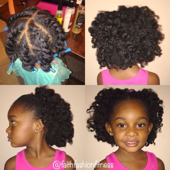 natural twists hairstyles : twist out for kids Natural hairstyle Natural hairstyles for kids ...