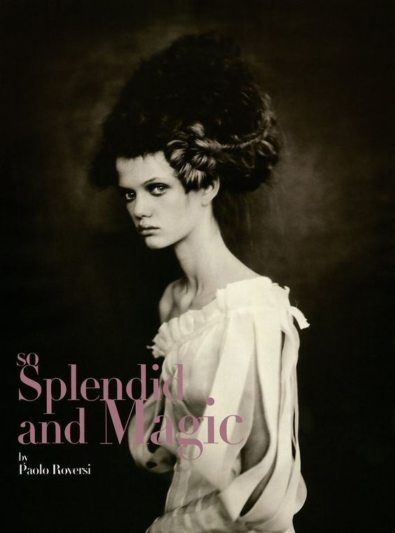 """So Splendid and Magic"" by Paolo Roversi for Vogue Italia Supplement, March 2005"