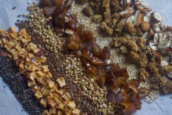 Three Hazels: raw vegan, activated buckwheat granola