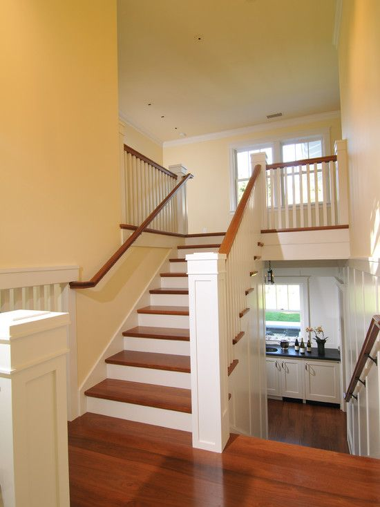 Split level staircase design for the home pinterest for Foyer staircase ideas