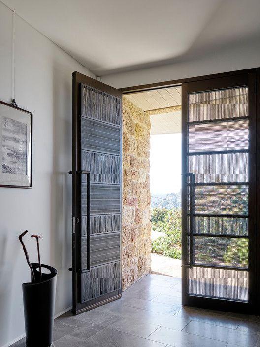 The Books House Courtesy Of Luigi Rosselli House Entrance Doors Grill Door Design Modern Exterior Doors