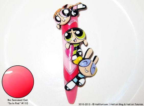 "NailGurl: Nail Art Blog: Bio Seaweed Gel: ""So In Pink"" #110"