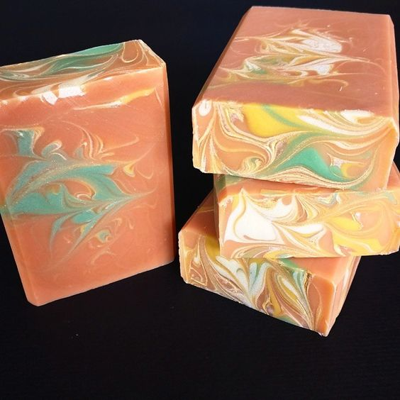 QUAT QUAT! This one is super special. Made with Loquat tea brewed from organic loquat leaves and scented with Kumquat. Loquat tea is said to have beneficial properties for the skin. Coconut milk, Shea butter, Mango butter and kaolin clay have also been added. This one is also a custom order for shower favors. #quatquat #loquat #kumquat #skinlove #sfmade #organictea #artisansoap #luxurysoap #showerfavors #soapshare #soapporn #coldprocesssoap #mangobutter